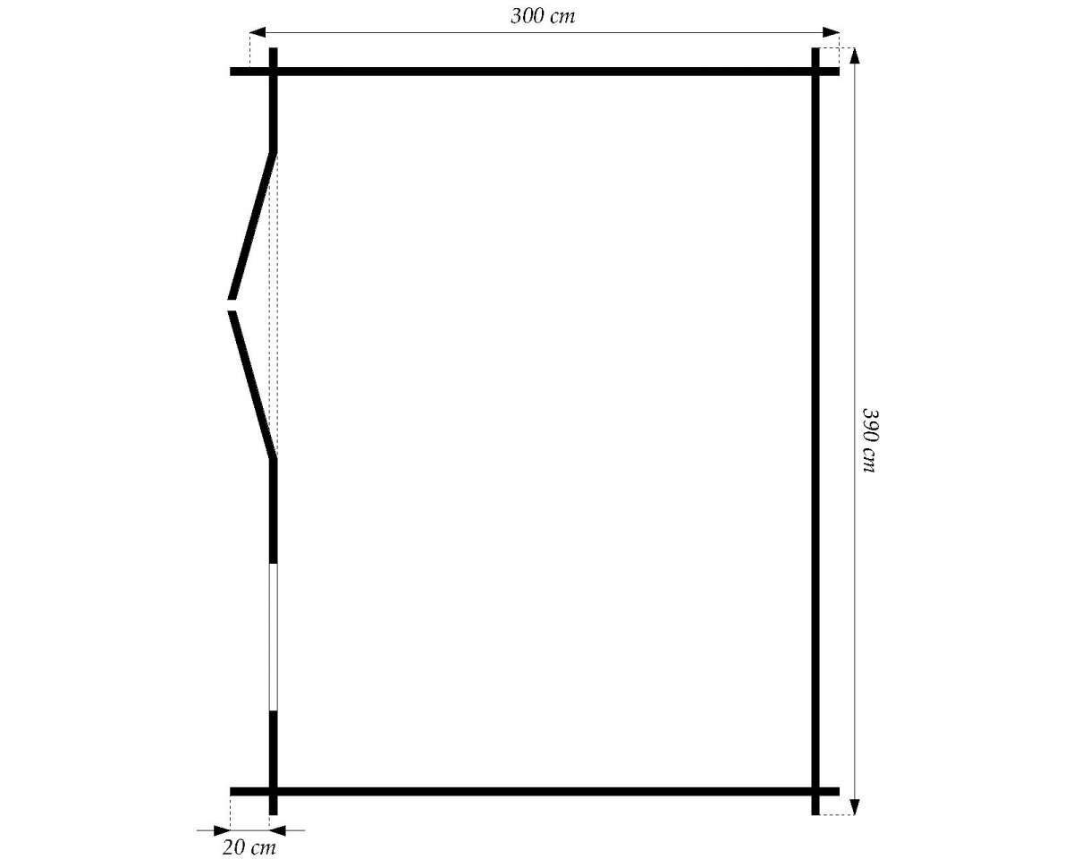 28 mm gartenhaus schweden 18 390 x 298 cm holz ger tehaus blockhaus schuppen. Black Bedroom Furniture Sets. Home Design Ideas