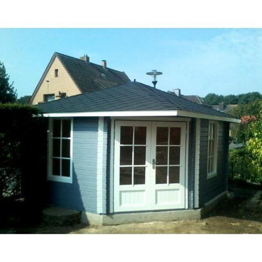 5 Eck Gartenhaus Norwegen 8+