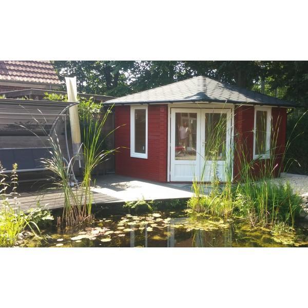 5 Eck Gartenhaus Norwegen 8   Gartenhaus King.de
