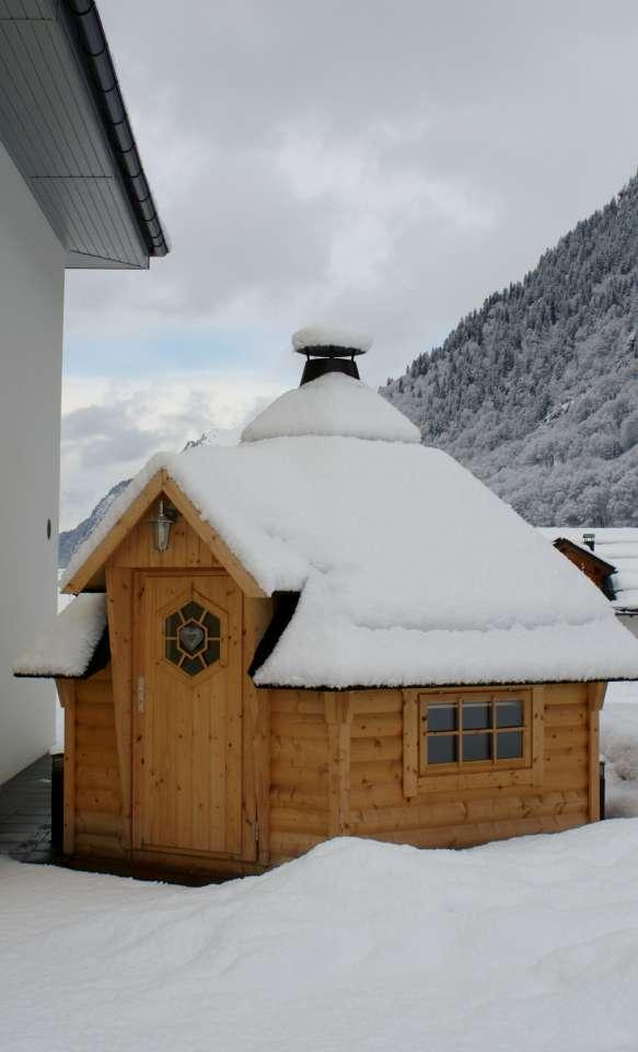Gartenbauten winterfest machen