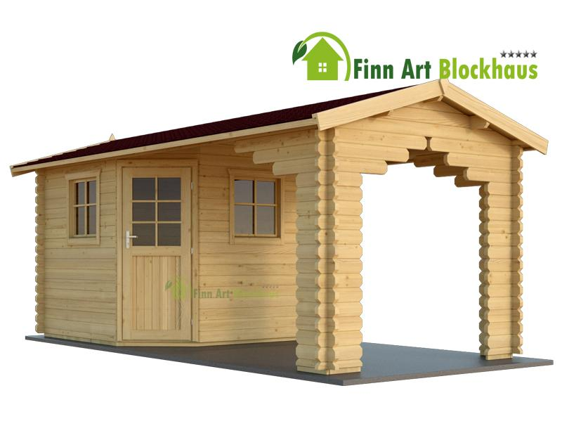 28 mm 5 eck gartenhaus schweden 34 260x260 cm holz ger tehaus blockhaus schuppen ebay. Black Bedroom Furniture Sets. Home Design Ideas