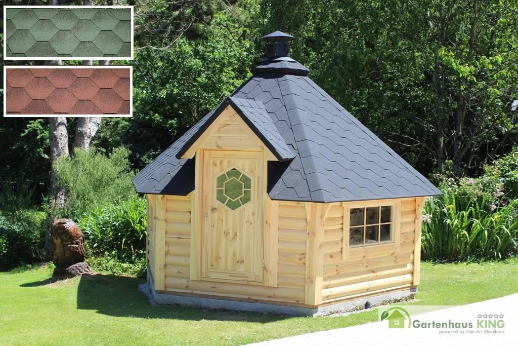 grillkota elegance 9 2 inkl grillanlage 6 eckig gartenhaus. Black Bedroom Furniture Sets. Home Design Ideas