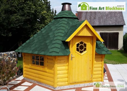 Finn Art Grillkota Finnland 9,2 m² Plus
