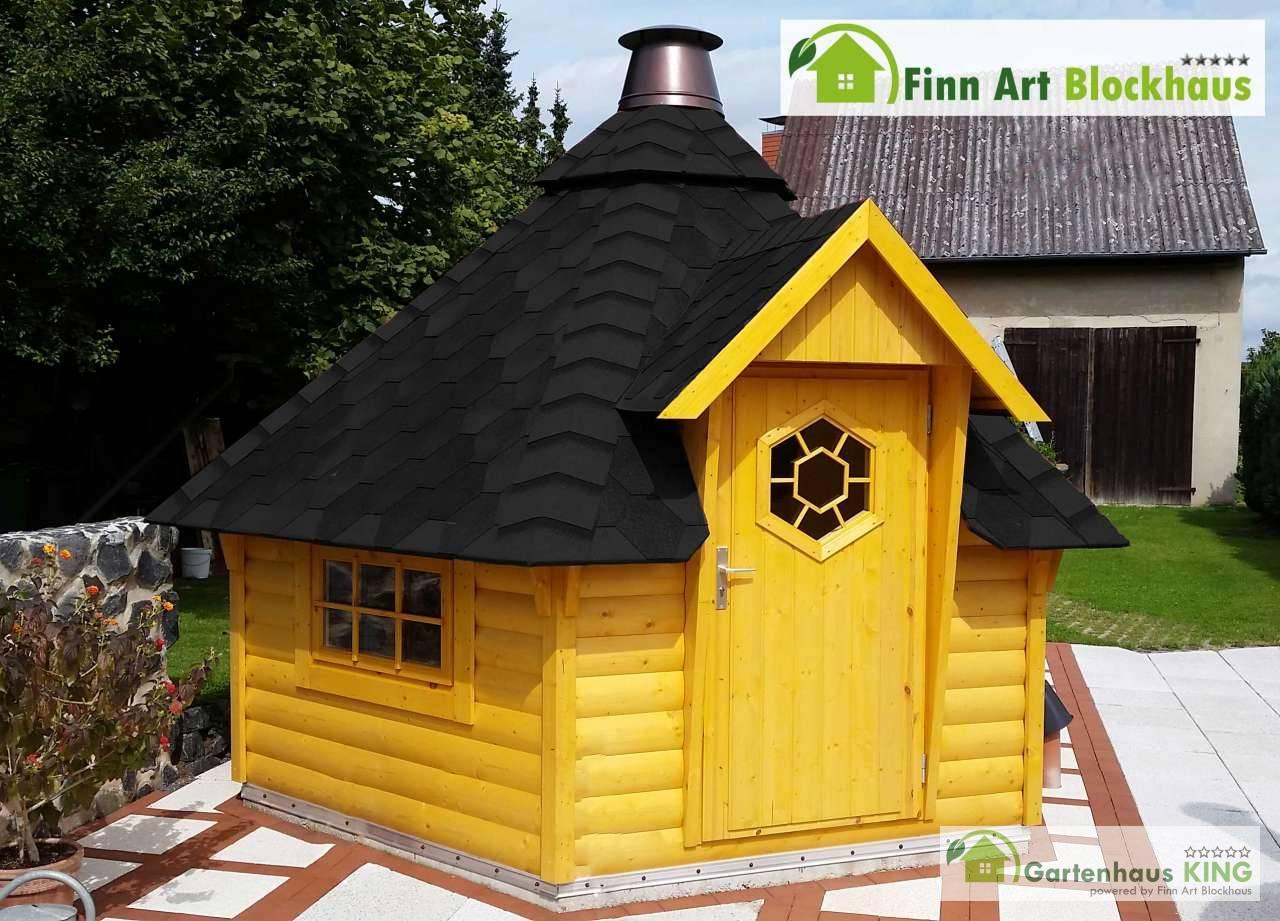grillkota 9 2 finnland pavillon gartenhaus grillh tte kota grillhaus bbq holz. Black Bedroom Furniture Sets. Home Design Ideas