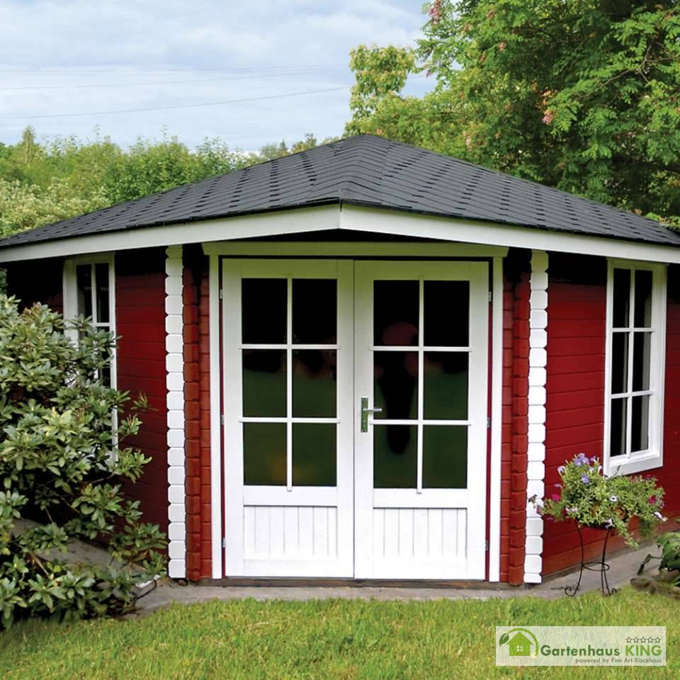 5 eck gartenhaus norwegen 8 - gartenhaus-king.de