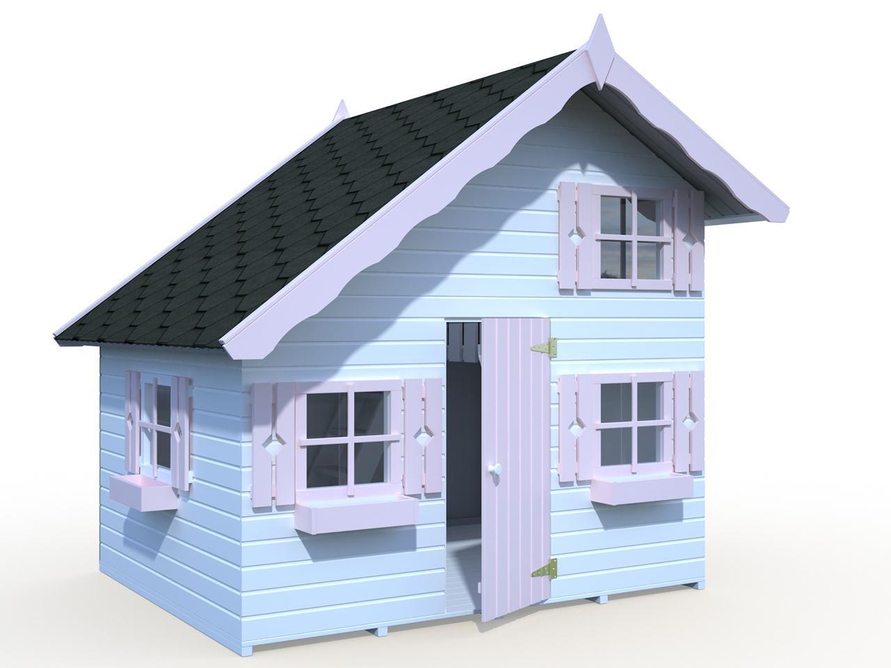 palmako kinderspielhaus tom 3 8 m gartenhaus. Black Bedroom Furniture Sets. Home Design Ideas