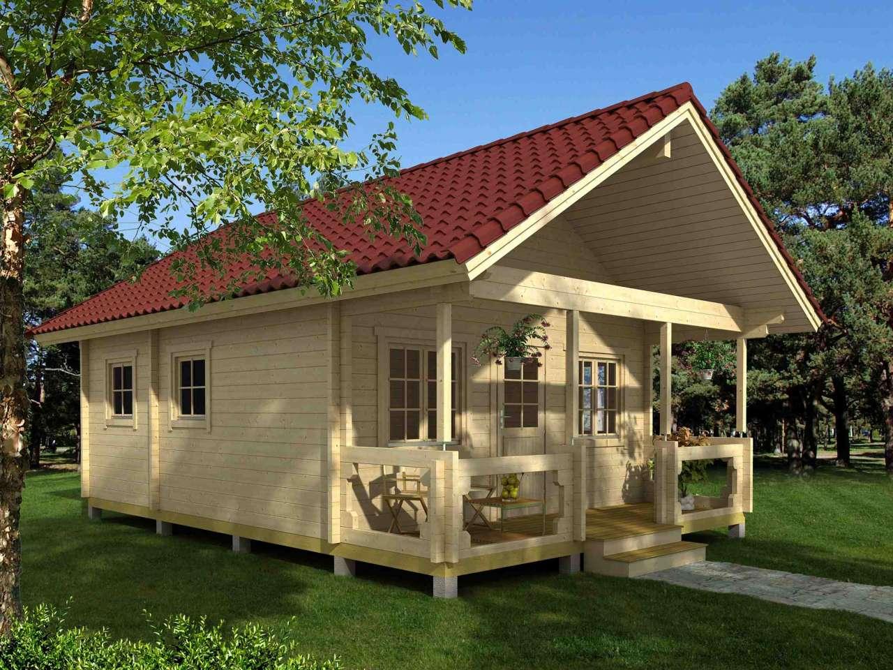 Vorteile größerer Wandstärken für Gartenhäuser