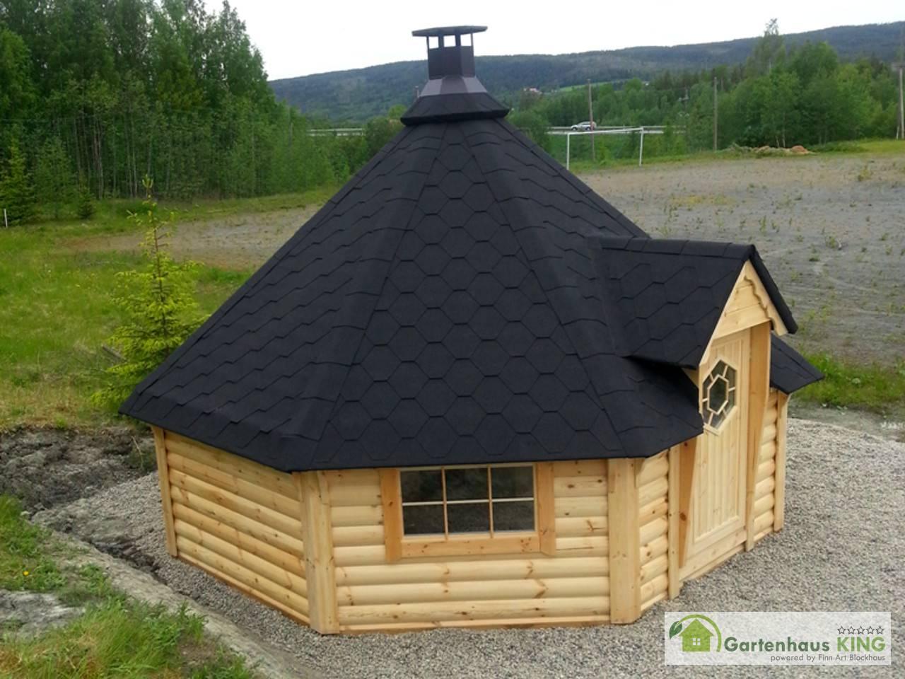 finn art grillkota elegance 16 5 m gartenhaus. Black Bedroom Furniture Sets. Home Design Ideas
