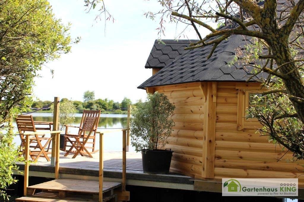 finn art grillkota elegance 16 5 m mit anbau gartenhaus. Black Bedroom Furniture Sets. Home Design Ideas