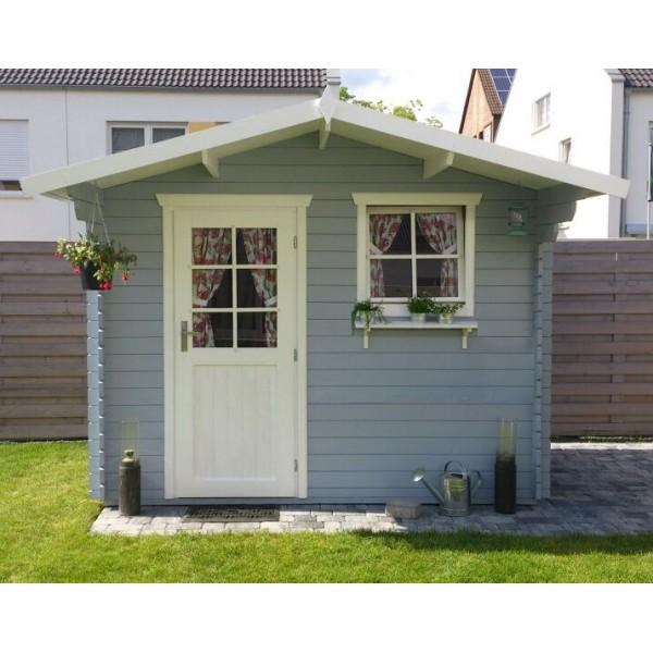 28 mm gartenhaus schweden 15 298 x 200 cm holz ger tehaus blockhaus schuppen ebay. Black Bedroom Furniture Sets. Home Design Ideas