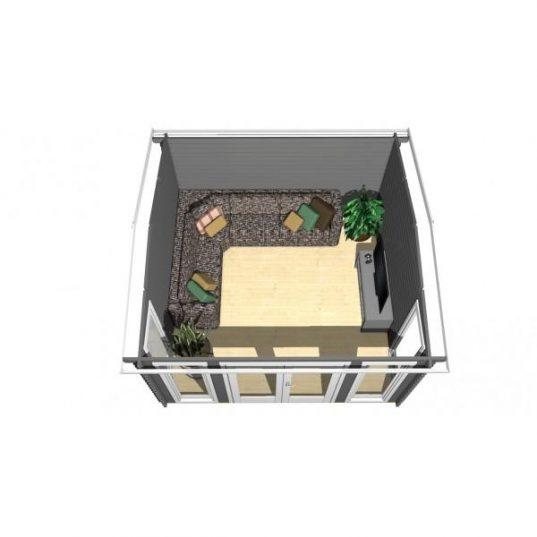 Gartenhaus York 10