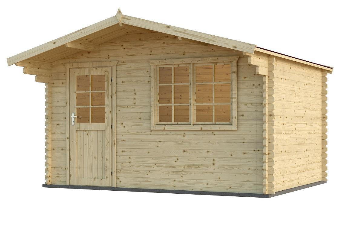 28 mm gartenhaus schweden 23 390 x 390 cm holz ger tehaus blockhaus schuppen ebay. Black Bedroom Furniture Sets. Home Design Ideas