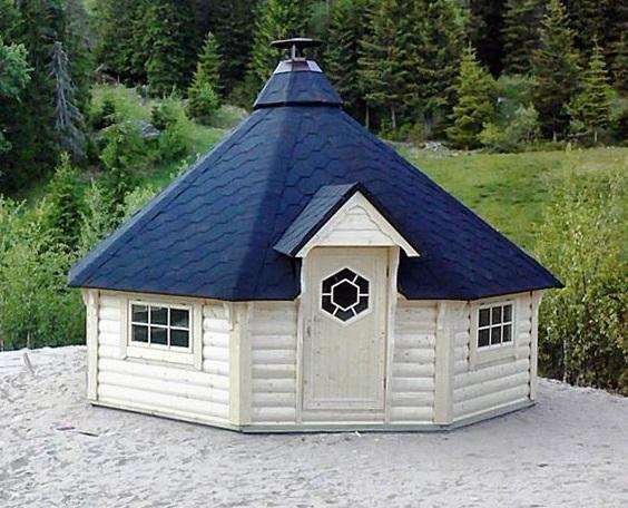 grillkota elegance 16 9 m inkl grillanlage 8 eckig gartenhaus. Black Bedroom Furniture Sets. Home Design Ideas