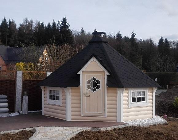 grillkota elegance 14 9 inkl grillanlage 8 eckig gartenhaus. Black Bedroom Furniture Sets. Home Design Ideas