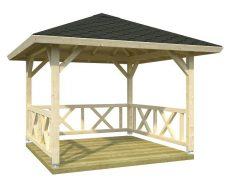 Palmako Pavillon Betty 9,0 m²