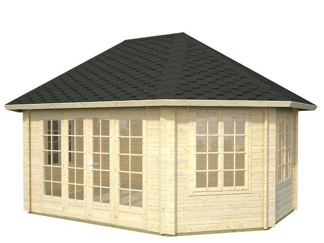 palmako pavillon hanna 20 3 m gartenhaus. Black Bedroom Furniture Sets. Home Design Ideas