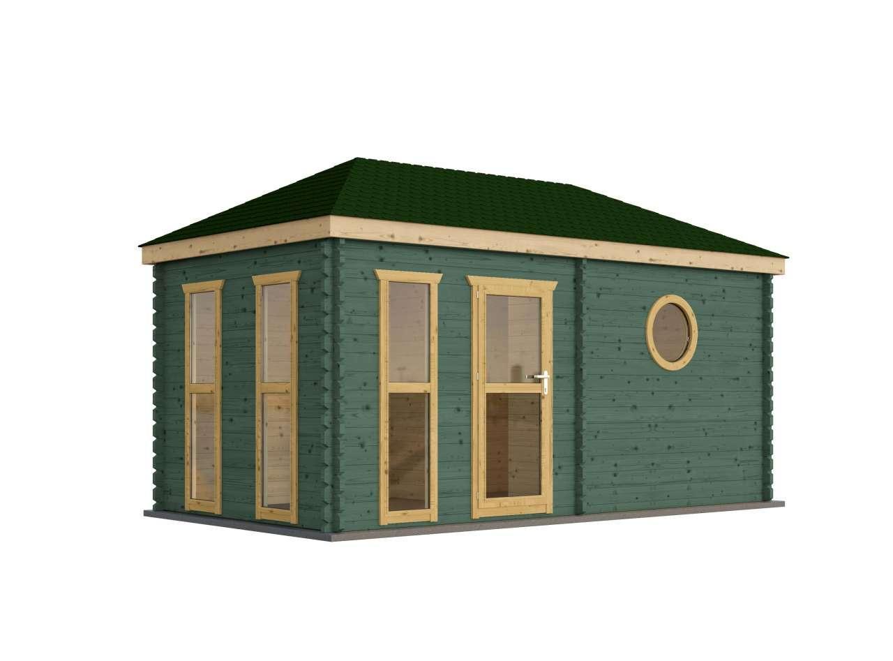 saunahaus trontheim 4 gartensauna gartenhaus sauna au ensauna 4 8x2 4. Black Bedroom Furniture Sets. Home Design Ideas