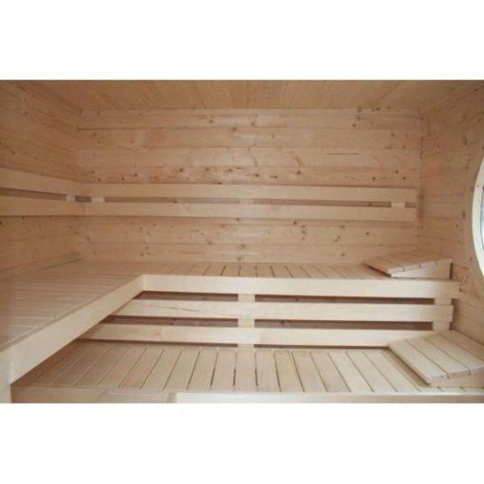Saunahaus GartensaunaTrontheim-4 online kaufen Holz von Gartenhaus-king.de