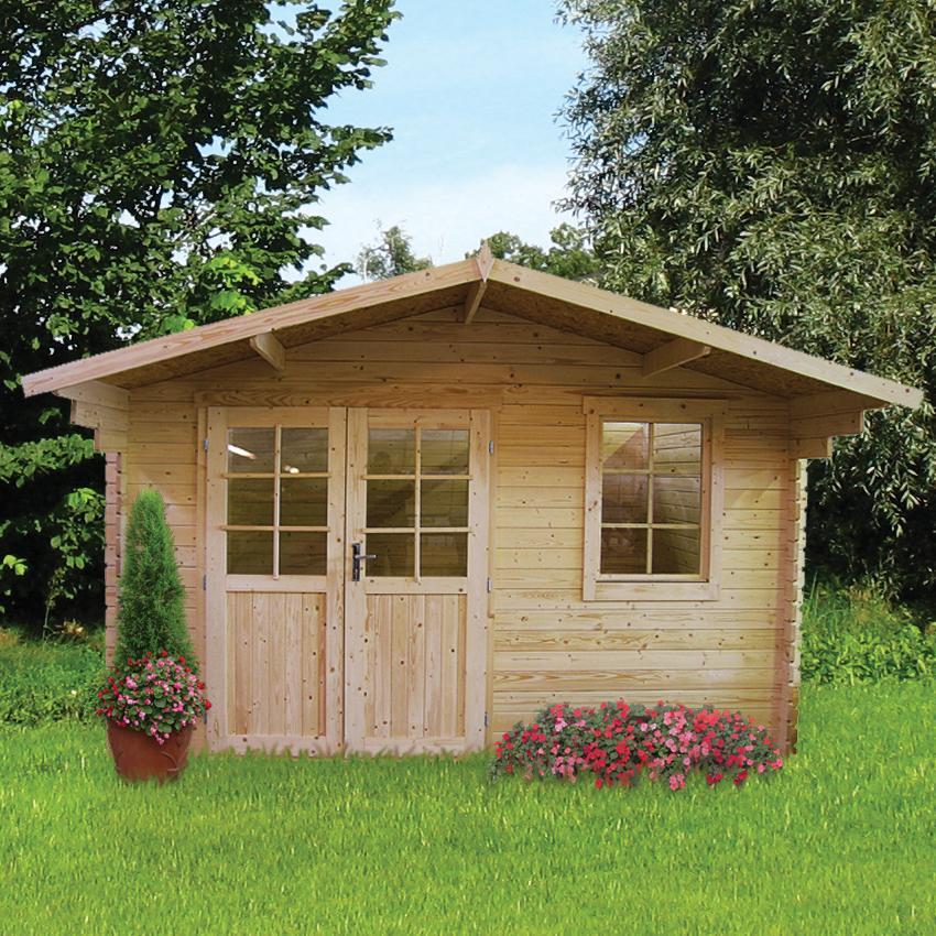 gartenlaube kaufen awesome gartenhaus moormerland with. Black Bedroom Furniture Sets. Home Design Ideas