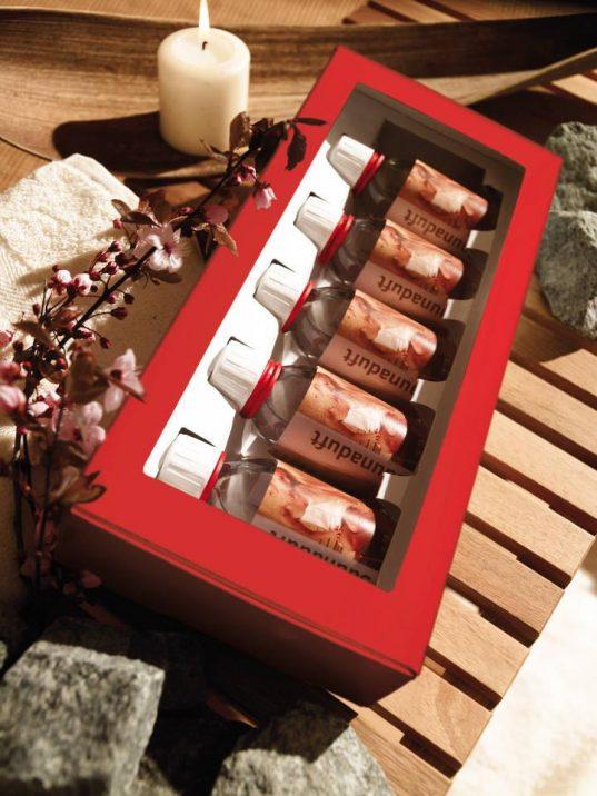 Geschenkpaket: Aufgusskonzentrat 5er Set