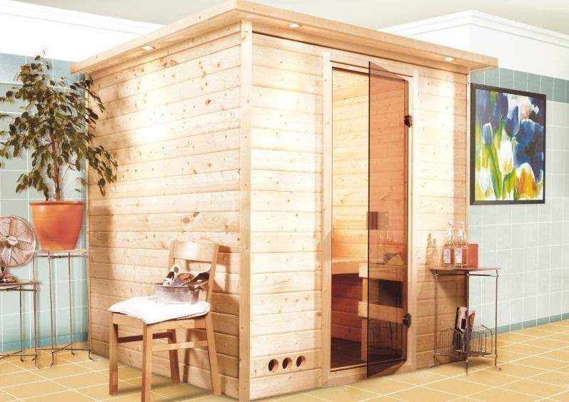Belüftung der Sauna