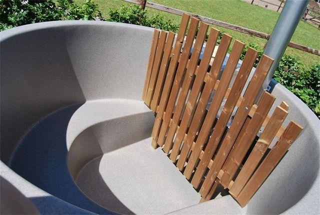 badebottich 160 premium innenofen red cedar beige gartenhaus. Black Bedroom Furniture Sets. Home Design Ideas