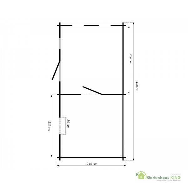 saunahaus trontheim 3 gartensauna gartenhaus sauna au ensauna 4 8x2 4. Black Bedroom Furniture Sets. Home Design Ideas