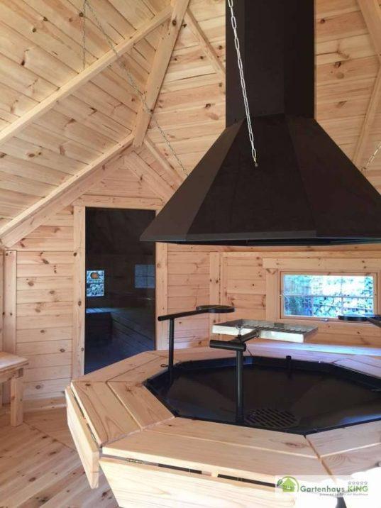 Finn Art Grillkota Elegance 16,5 m² mit Saunaanbau