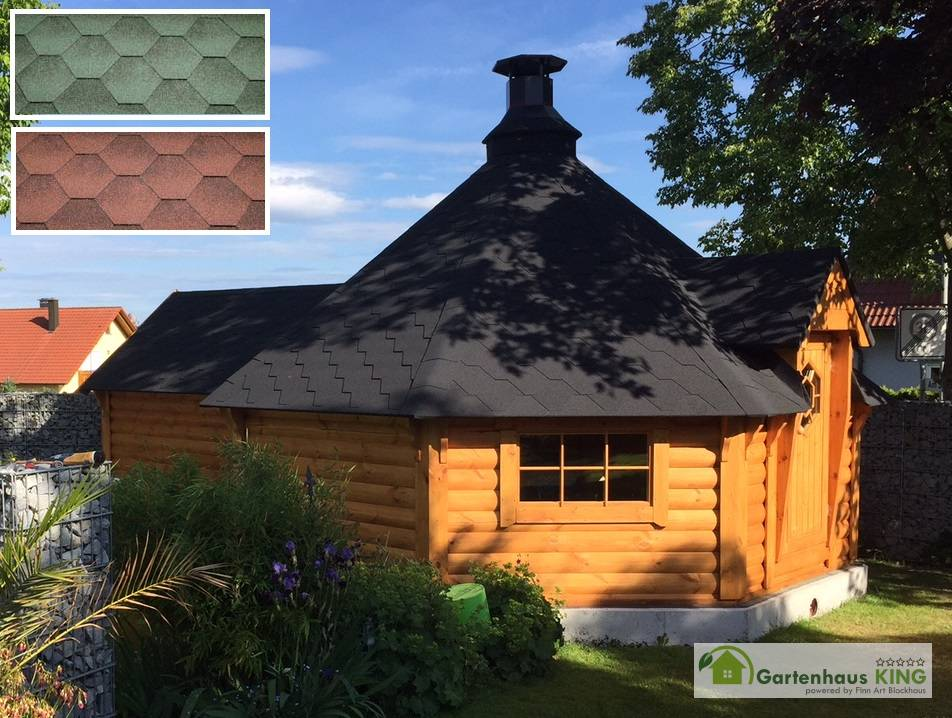 finn art grillkota elegance 16 5 m mit saunaanbau gartenhaus. Black Bedroom Furniture Sets. Home Design Ideas