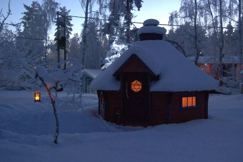 Schneelast für Gartenhaus, Pavillon, Überdachung