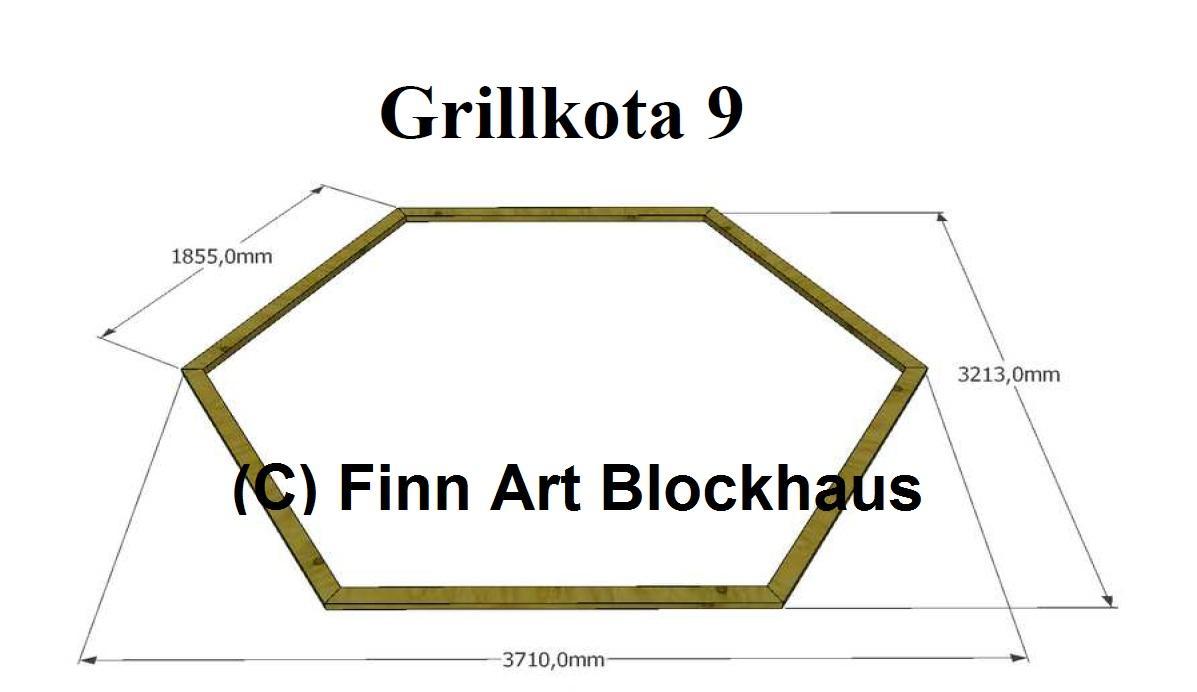 grillkota 9 2 jasper pavillon gartenhaus grillh tte kota grillhaus bbq ebay. Black Bedroom Furniture Sets. Home Design Ideas