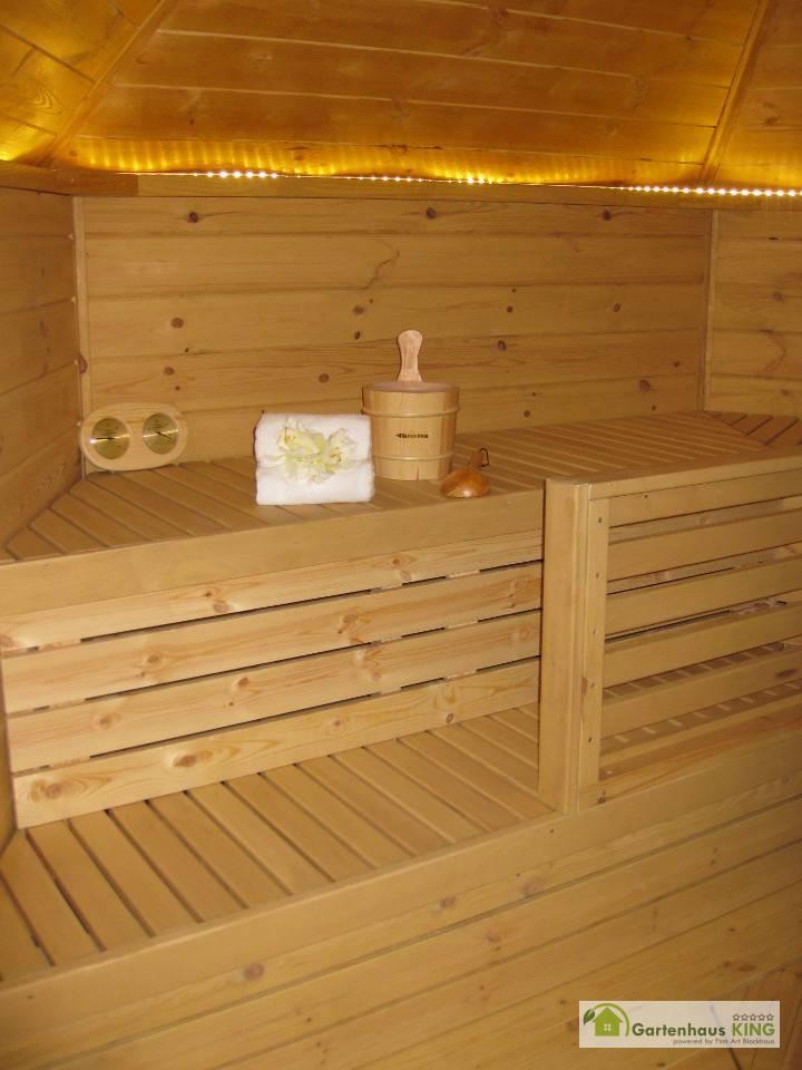finn art saunakota elegance 9 2 gartenhaus. Black Bedroom Furniture Sets. Home Design Ideas