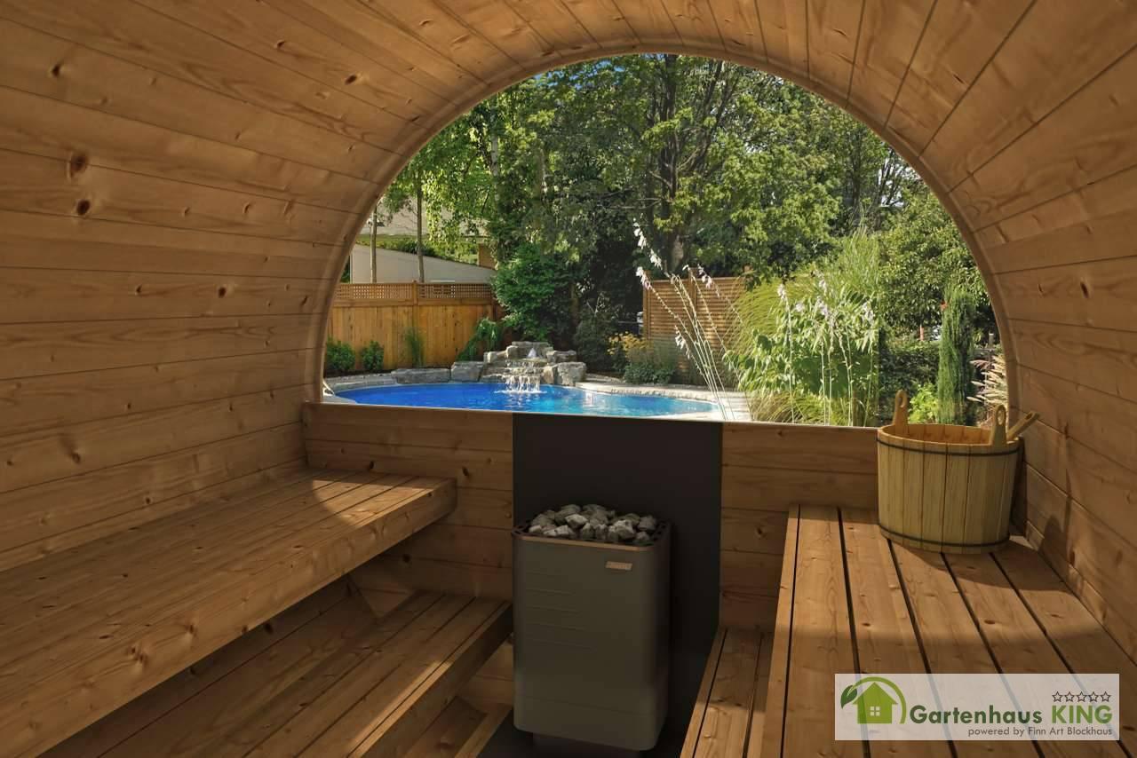 fasssauna 400 deluxe big saunafass der oberklasse aus. Black Bedroom Furniture Sets. Home Design Ideas