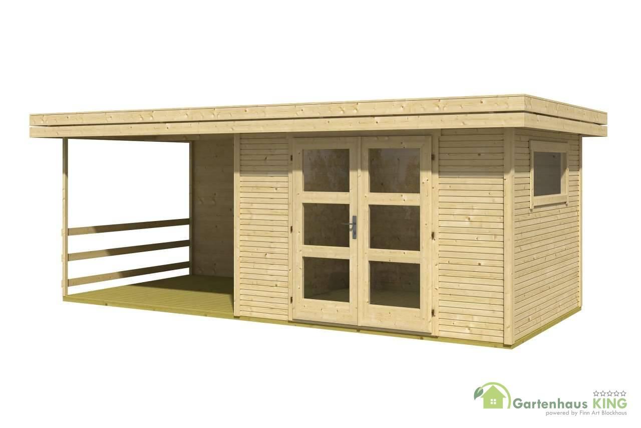 flachdach gartenhaus lasita maja faro 4 gartenhaus. Black Bedroom Furniture Sets. Home Design Ideas