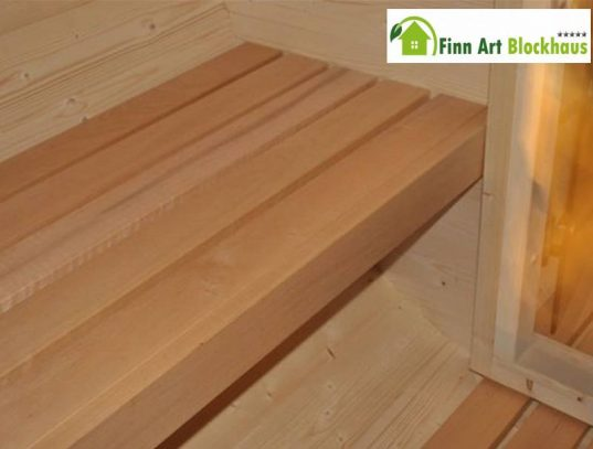 Finn Art Fass-Sauna Ove 6 Thermoholz