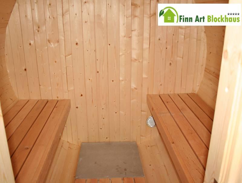 fasssauna kari 4 montiert saunafass saunahaus au ensauna gartensauna von finn ebay. Black Bedroom Furniture Sets. Home Design Ideas