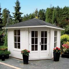 5 eck gartenhaus g nstig online kaufen gartenhaus. Black Bedroom Furniture Sets. Home Design Ideas