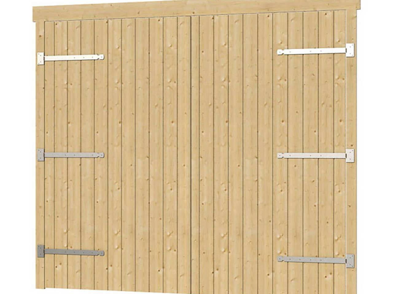 44 mm holzgarage falkland 595 x 595 lasita maja holz gartenhaus blockhaus ebay. Black Bedroom Furniture Sets. Home Design Ideas