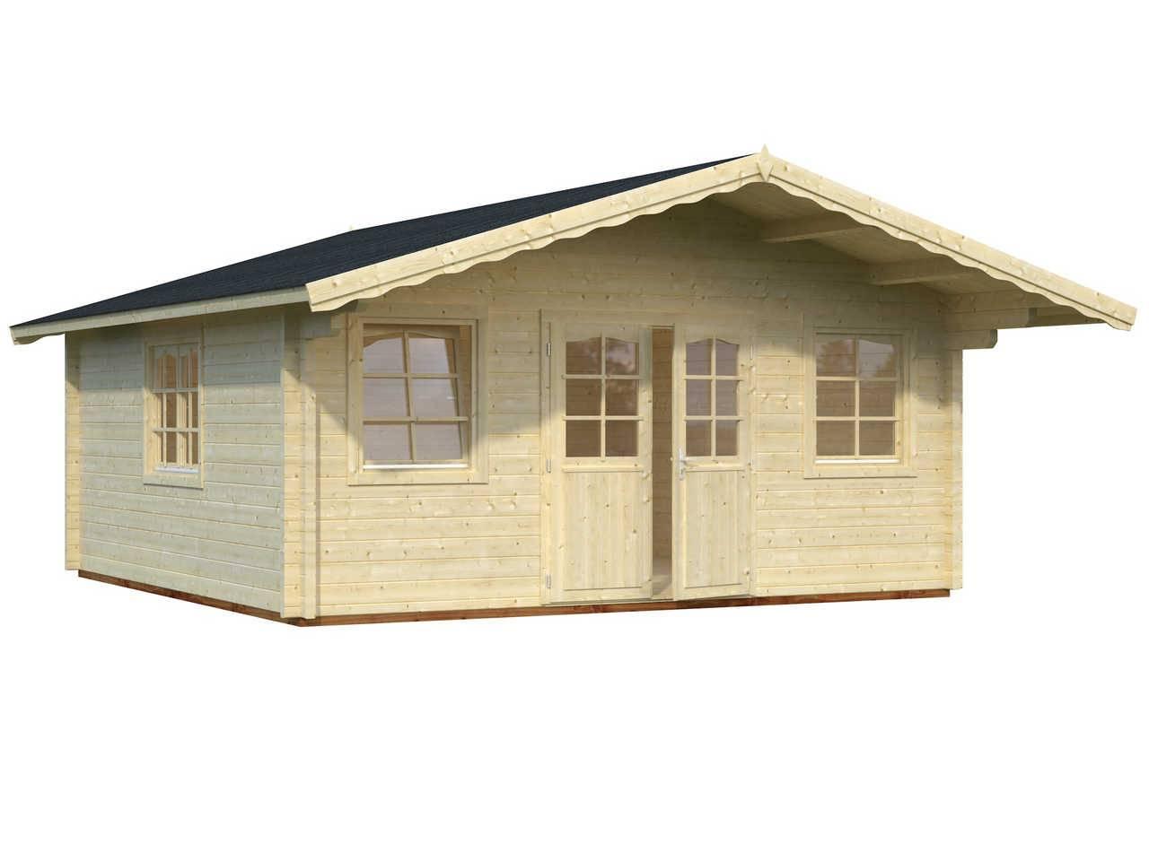 palmako gartenhaus helena 24 6 m gartenhaus. Black Bedroom Furniture Sets. Home Design Ideas
