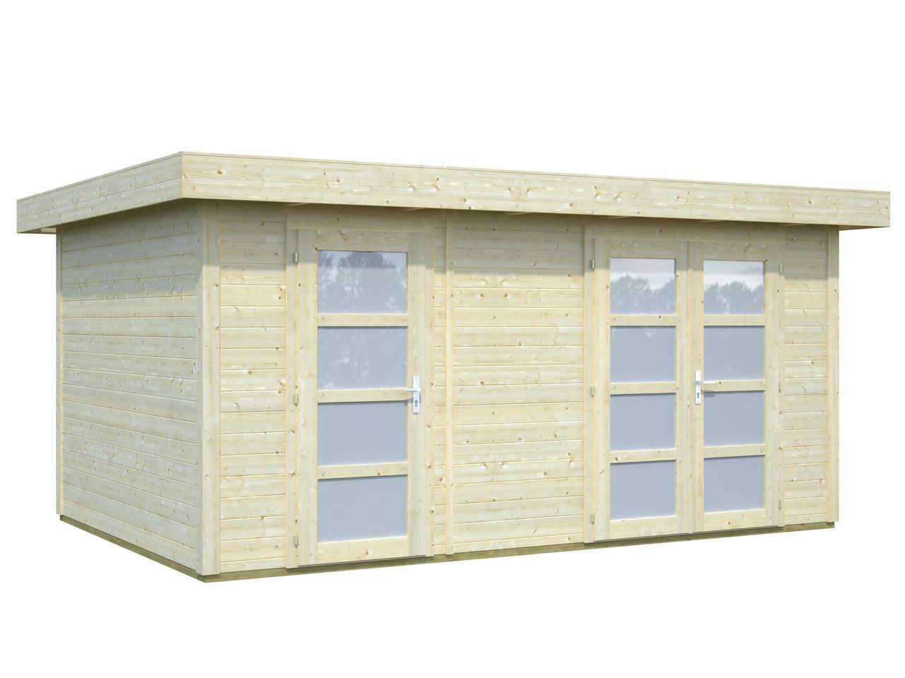 28 mm gartenhaus lara 12 7 m 445 x 295 palmako ger tehaus. Black Bedroom Furniture Sets. Home Design Ideas