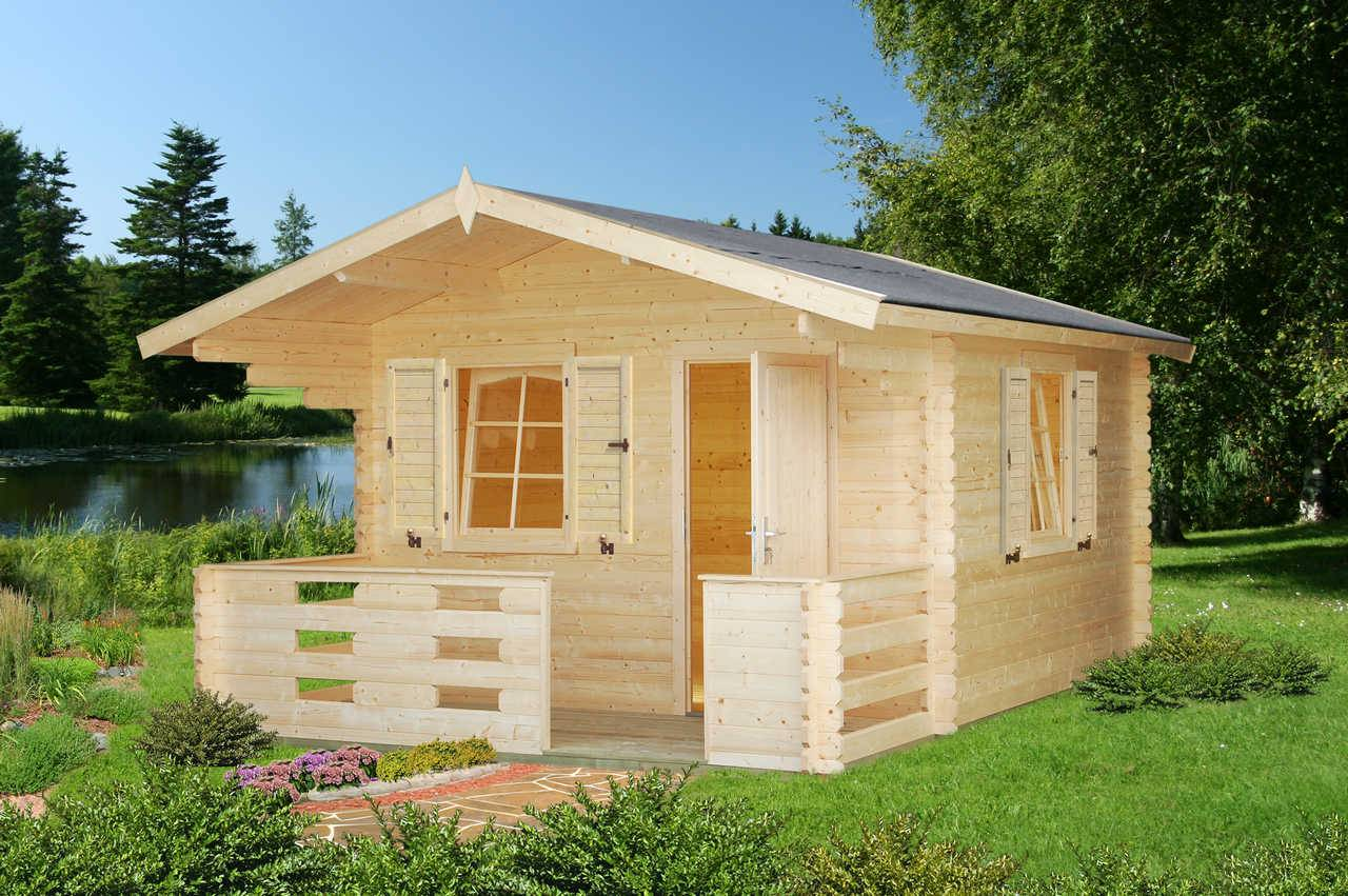 palmako gartenhaus sylvi 10 4 4 2 m gartenhaus. Black Bedroom Furniture Sets. Home Design Ideas