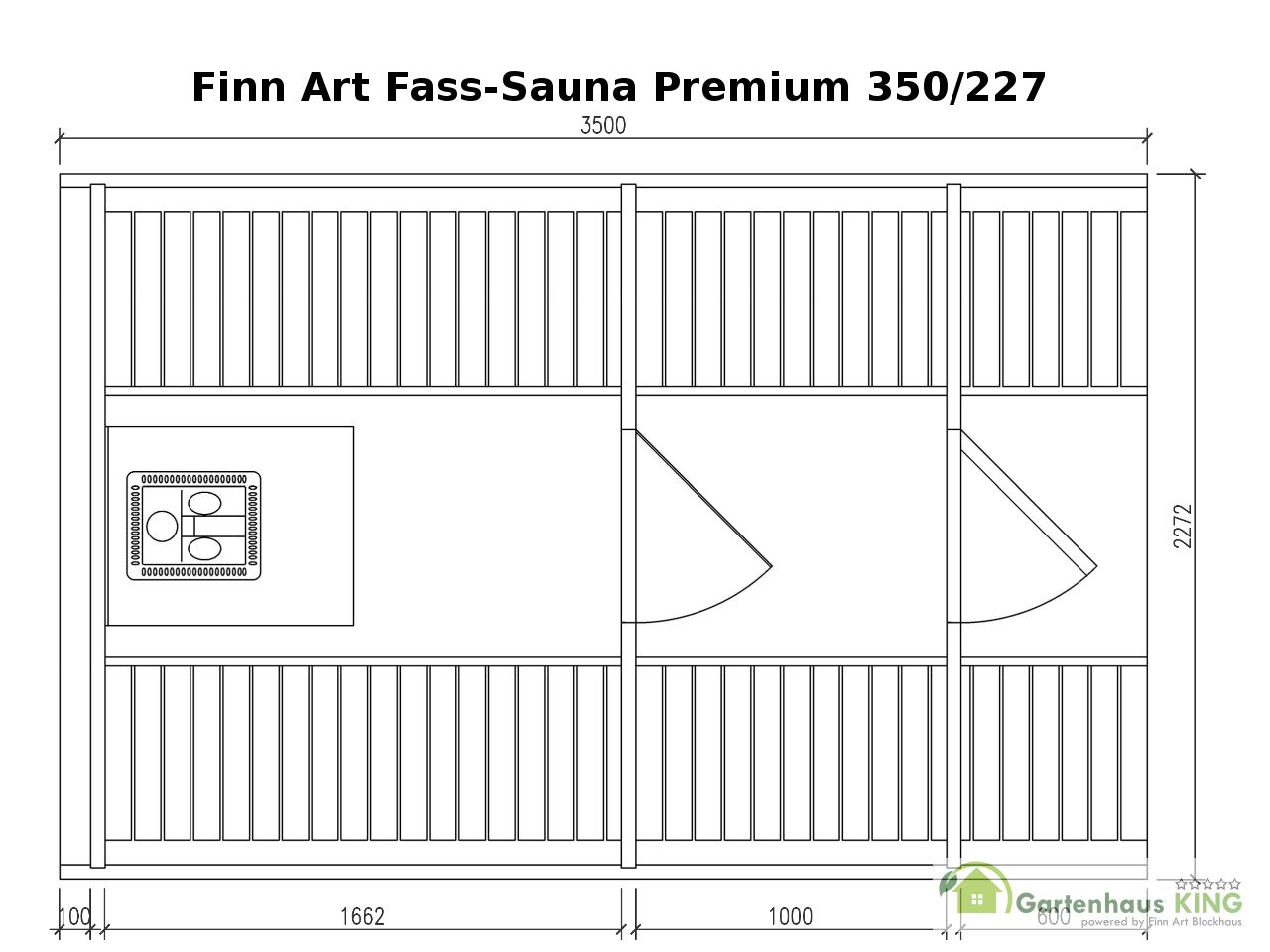 finn art fass sauna premium 350 thermoholz montiert 227 gartensauna aussensauna ebay. Black Bedroom Furniture Sets. Home Design Ideas