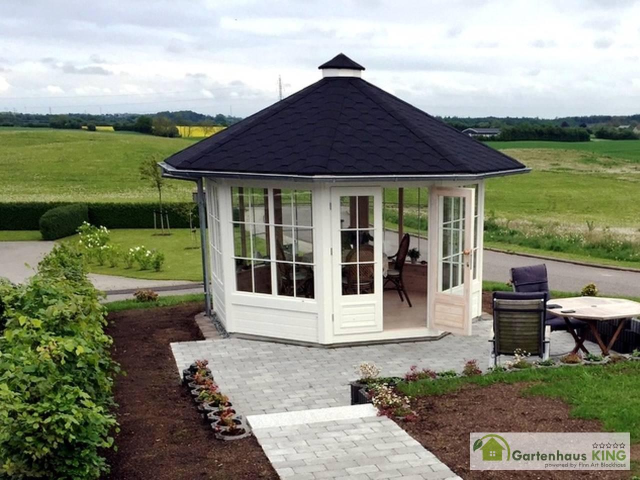 Baustoffe und Grundformen der Pavillons