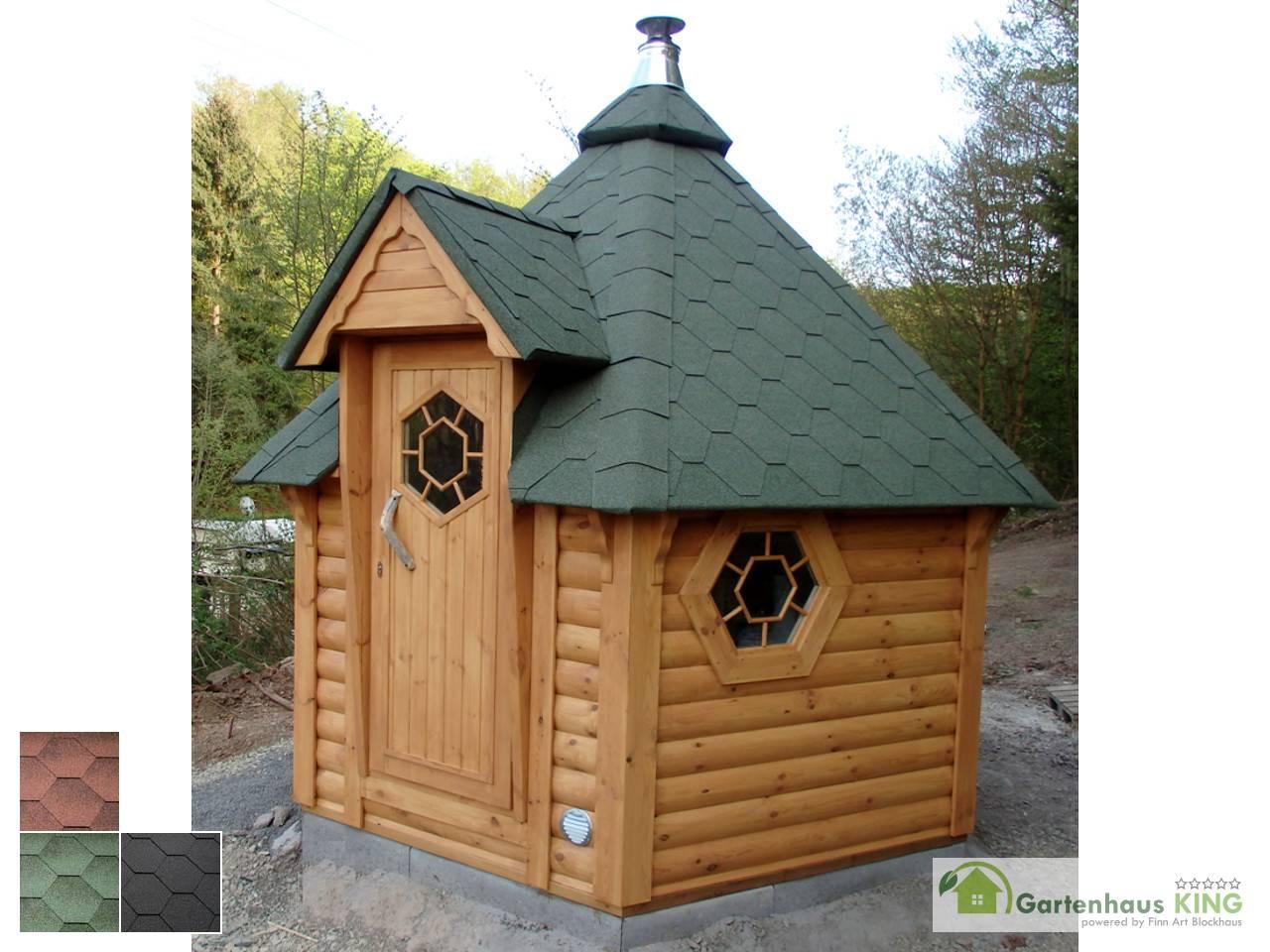 finn art saunakota elegance 7 0 m gartenhaus. Black Bedroom Furniture Sets. Home Design Ideas