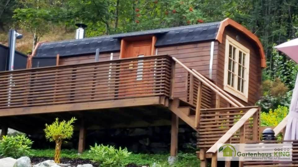 Saunahaus gartensauna saunabus 350 sauna gartenhaus pod - Gartenhaus king ...