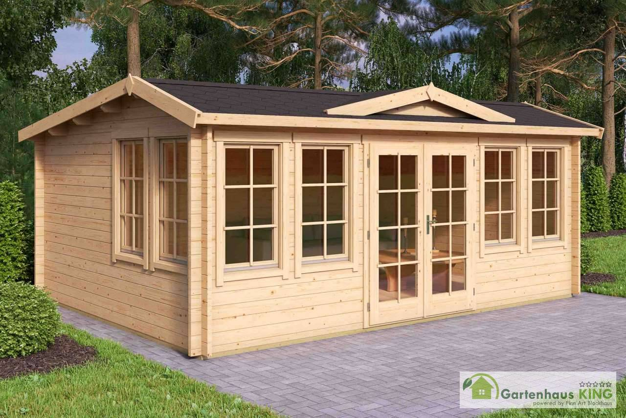 lasita maja gartenhaus balmoral 44 gartenhaus. Black Bedroom Furniture Sets. Home Design Ideas