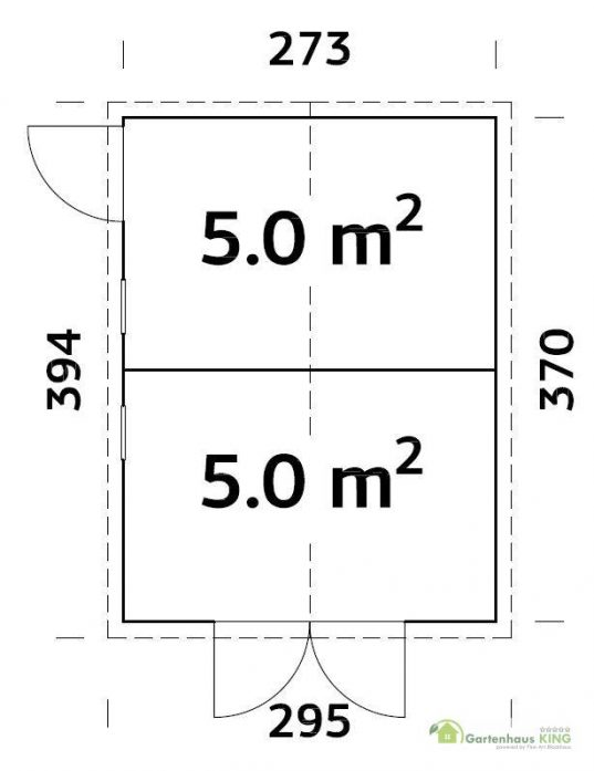 Palmako Gerätehaus Dan 10,0 m²