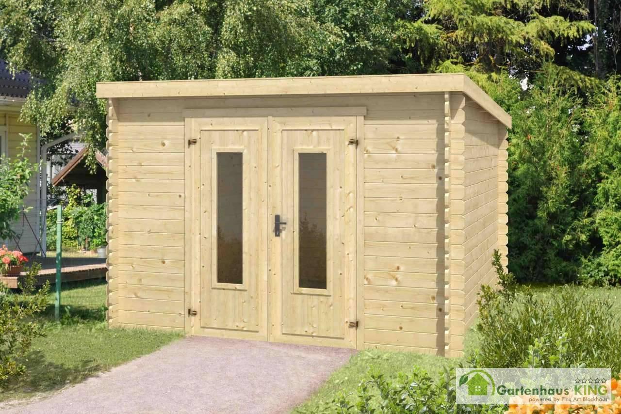 flachdach gartenhaus lasita maja sacramento gartenhaus. Black Bedroom Furniture Sets. Home Design Ideas