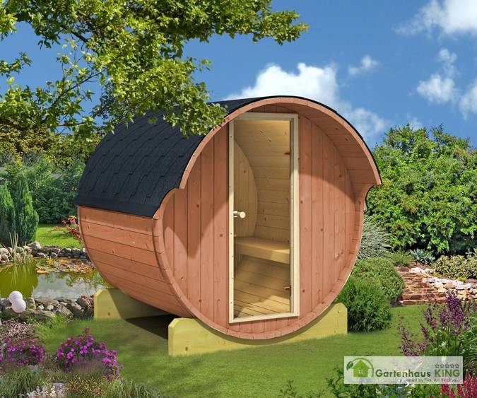 fasssauna ove 5 thermoholz bausatz saunafass saunahaus au ensauna gartensauna ebay. Black Bedroom Furniture Sets. Home Design Ideas