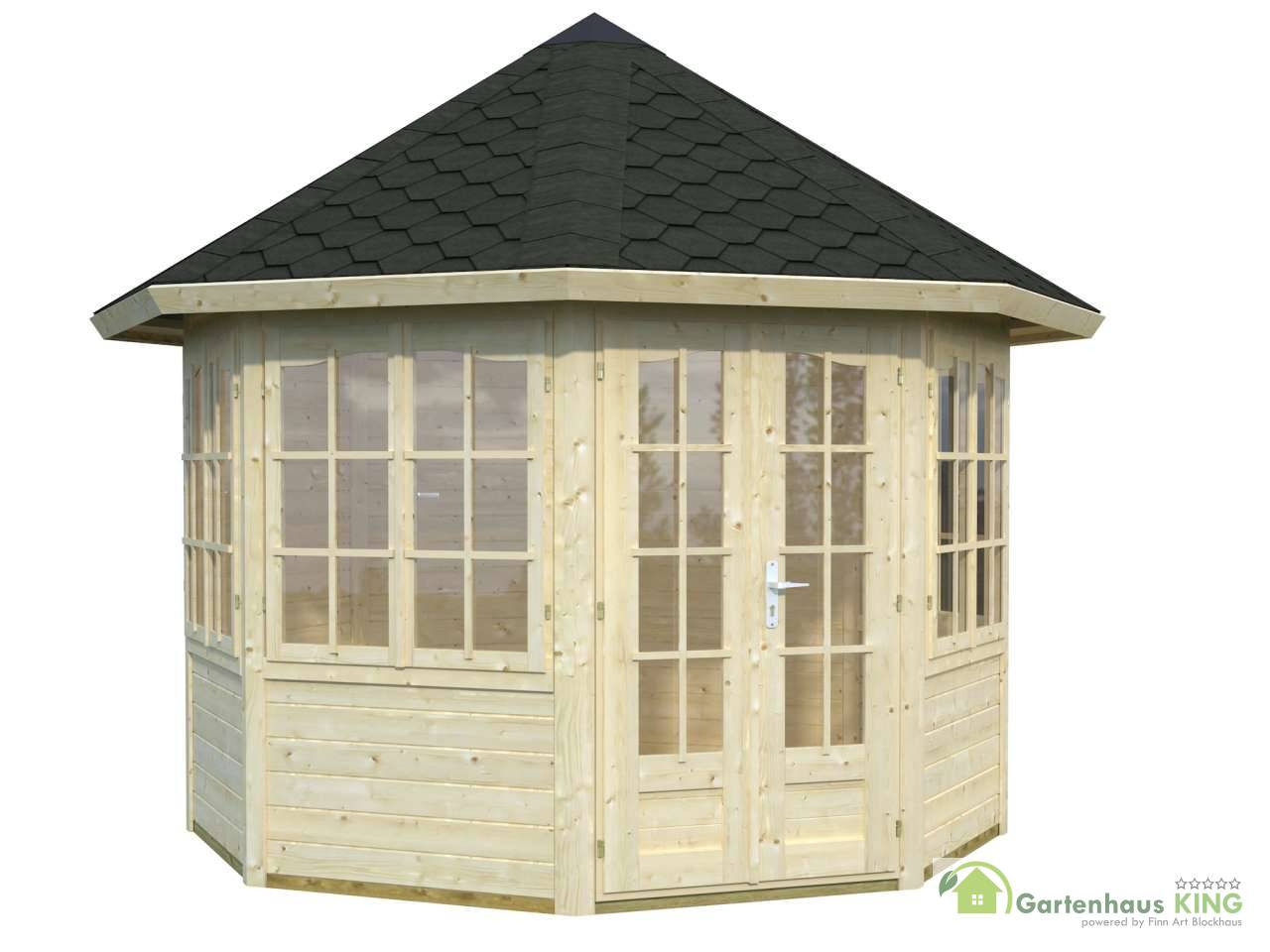 palmako pavillon veronica 4 6 7 m gartenhaus. Black Bedroom Furniture Sets. Home Design Ideas